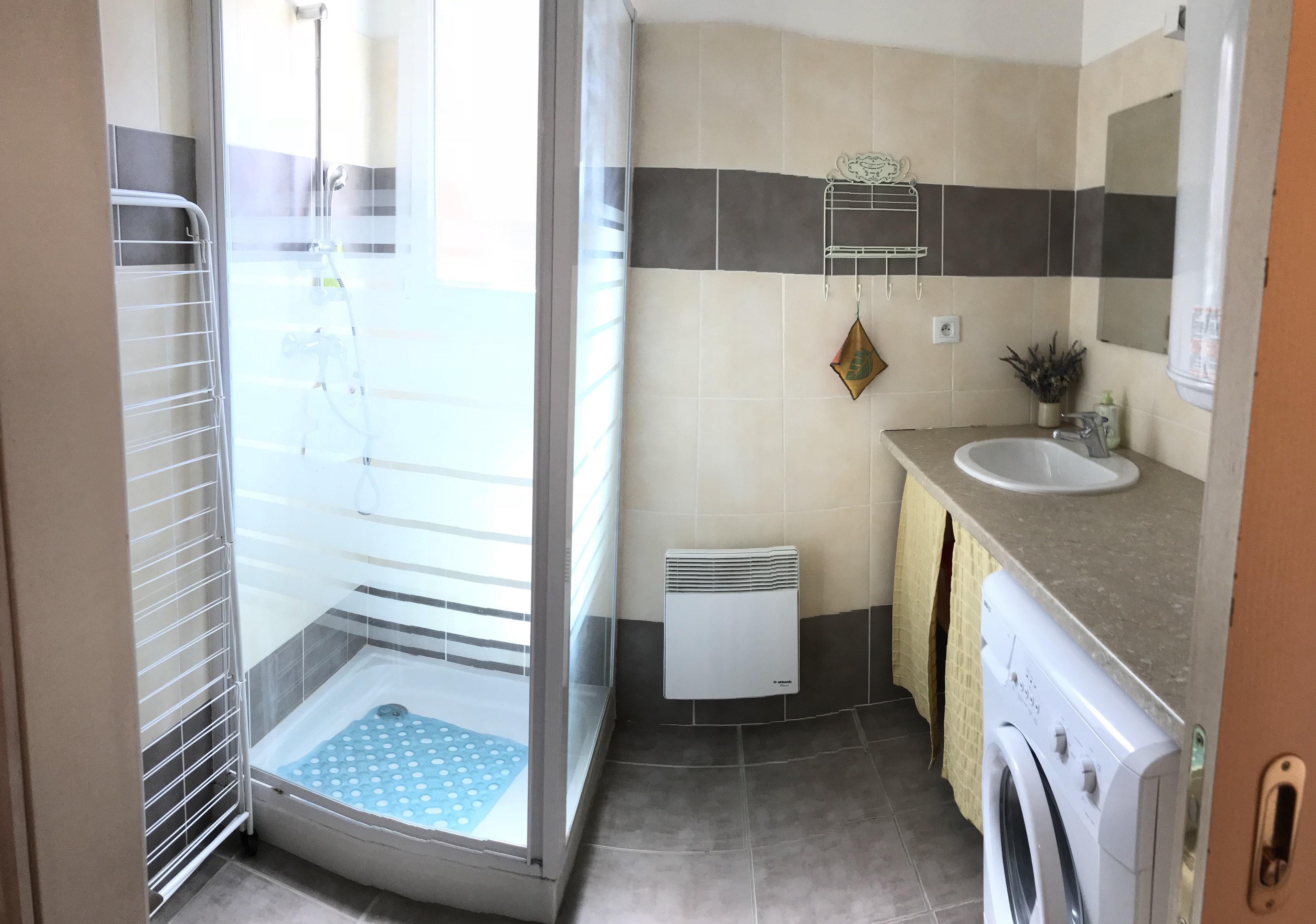 salle de bain mc - ANCELLE CHALET T3 DUPLEX (6 couchages)