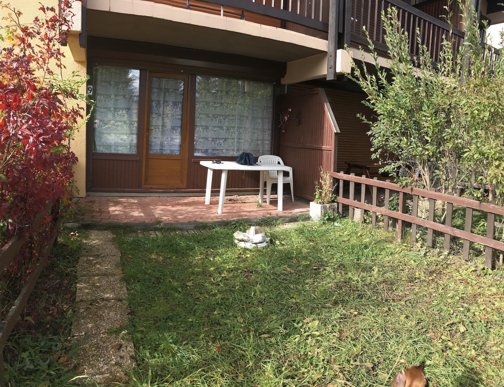 sanchez jardin - ANCELLE STUDIO EN RDC AVEC JARDINET (4 COUCHAGES)