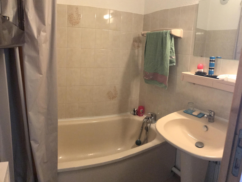 sanchez salle de bain - ANCELLE STUDIO EN RDC AVEC JARDINET (4 COUCHAGES)