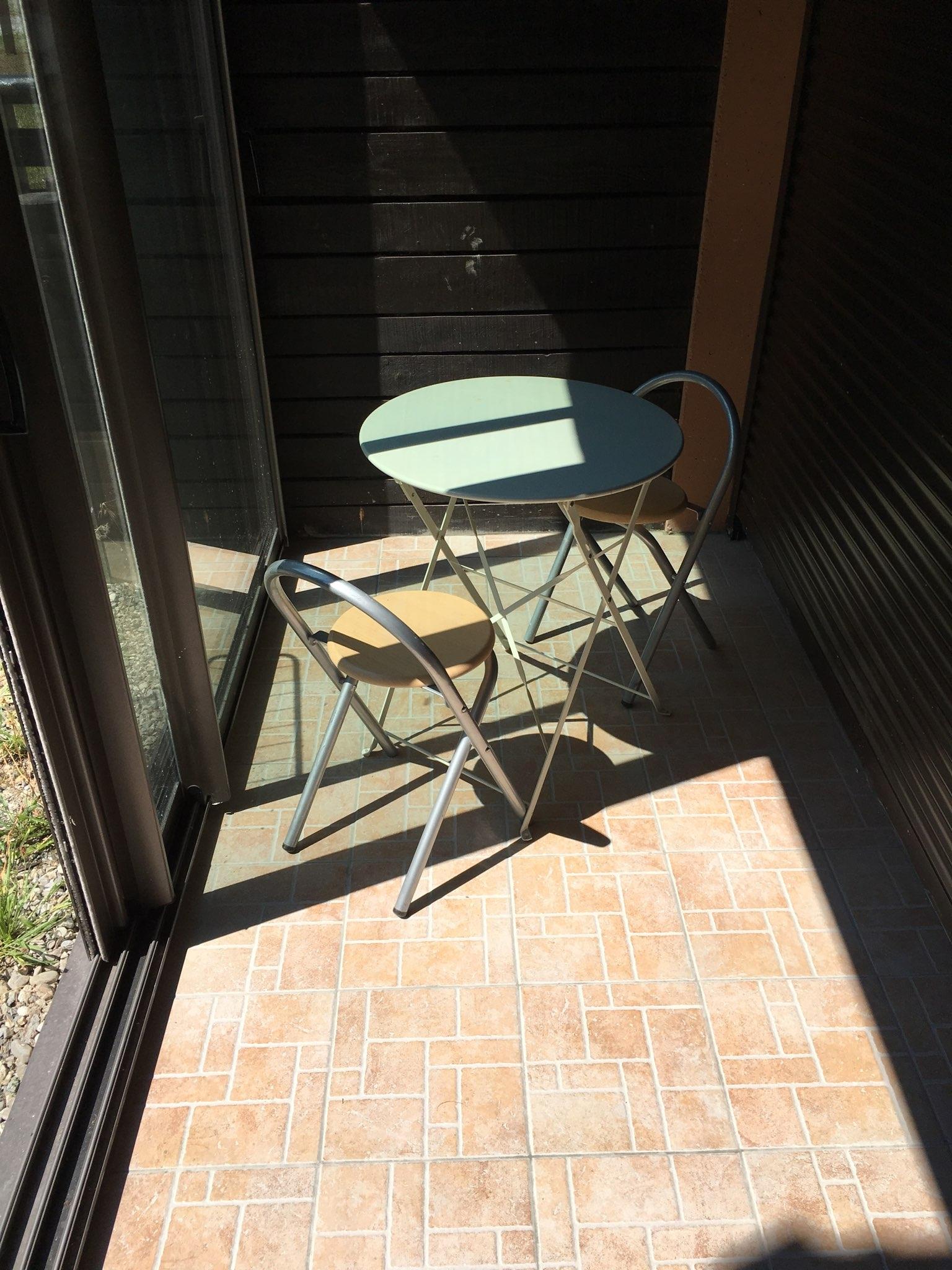 veranda ara112 - ANCELLE Studio 22m² + 5m² de véranda fermée et jardinet (4 couchages)