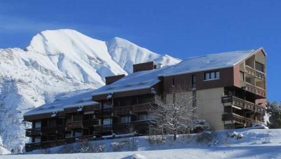 atme immeuble neige - ANCELLE Studio 25 m² + 6m² de véranda fermée + jardinet (4 couchages)
