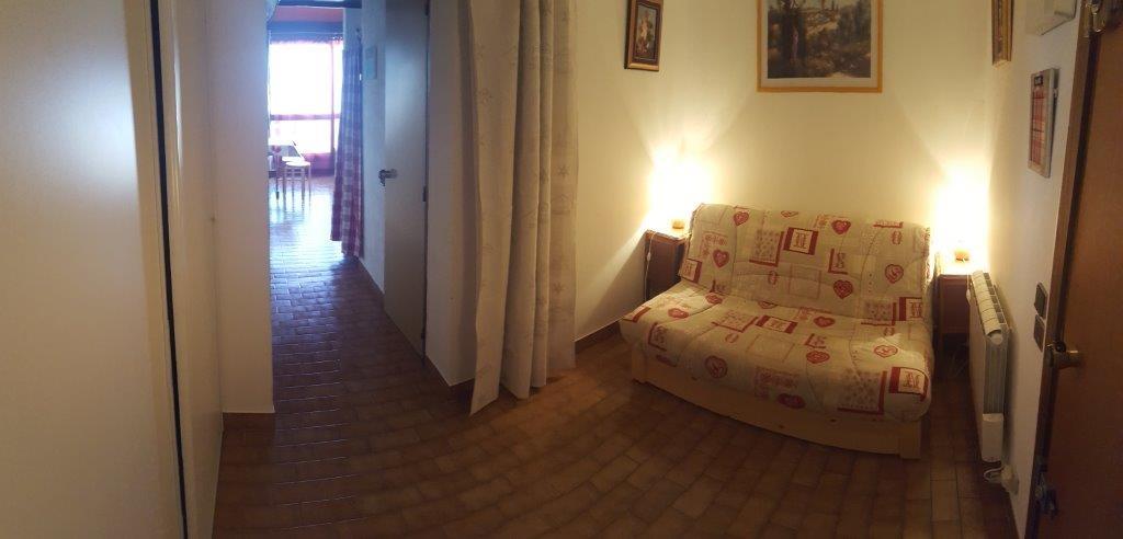 ayme chambre entree - ANCELLE T2 DUPLEX AVEC TERRASSE (5 personnes)