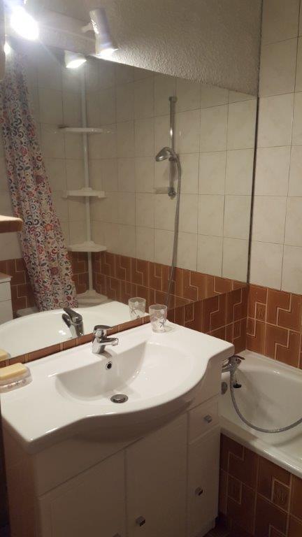 ayme salle de bain - ANCELLE T2 DUPLEX AVEC TERRASSE (5 personnes)