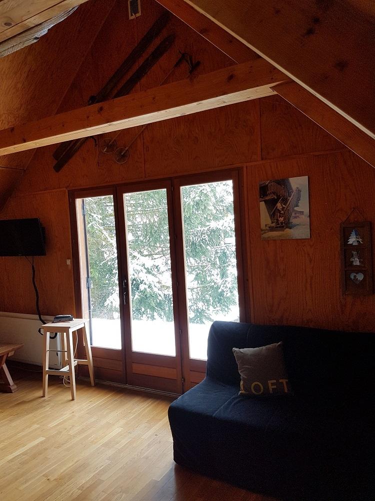 raout salon 2 - ANCELLE Chalet pour vos vacances (4 couchages )   Possibilités 10 couchages
