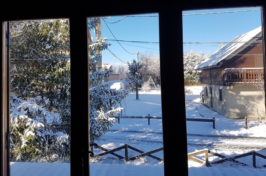raout terrasse - ANCELLE Chalet pour vos vacances (4 couchages )   Possibilités 10 couchages