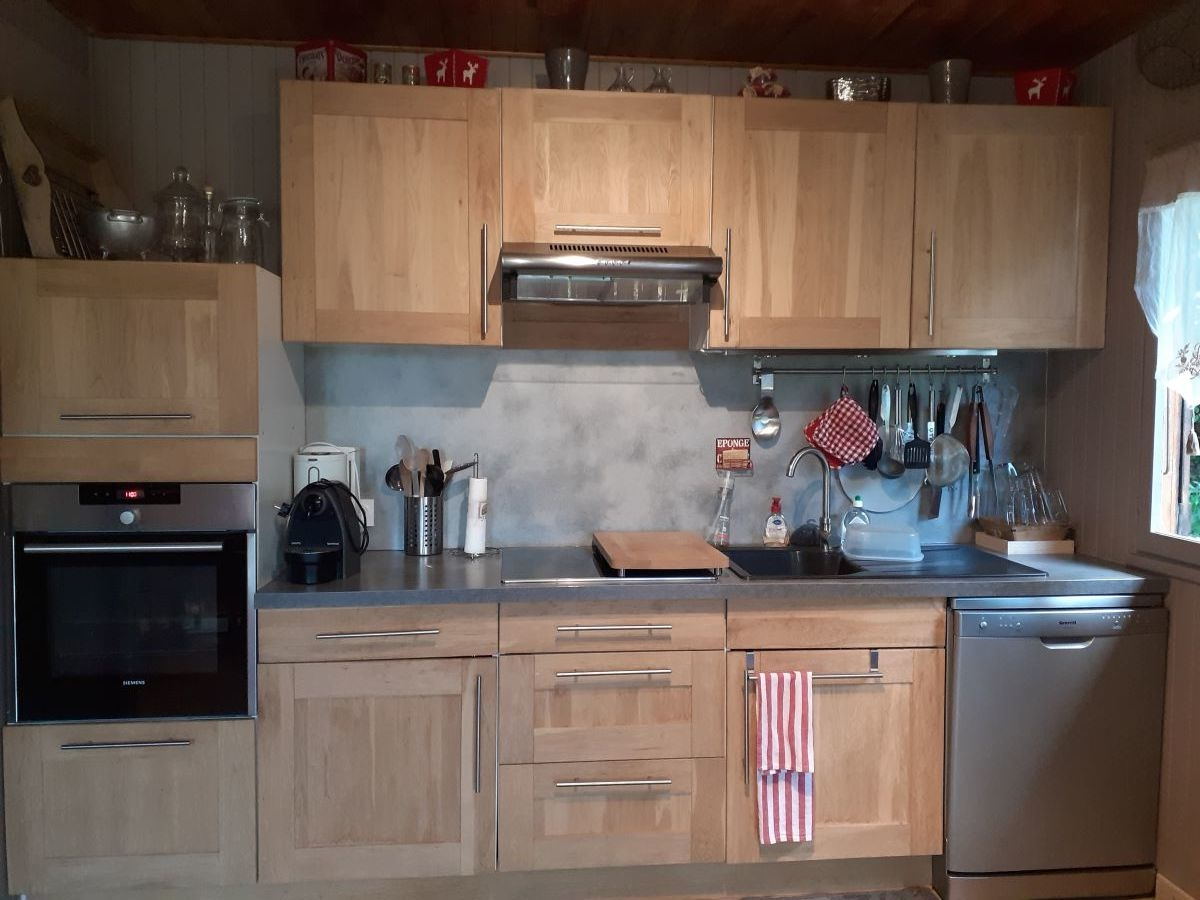 cuisine 1 - ANCELLE CHALET DE 85 m² ( 6 COUCHAGES) AUX FAIX