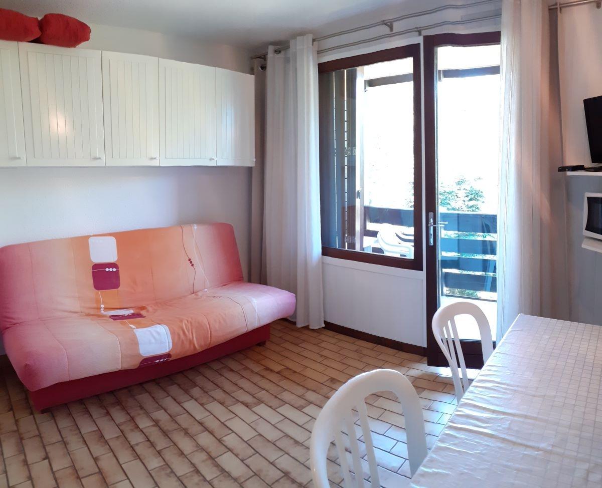 salon 4 - ANCELLE STUDIO DE 20 m² ( 4 COUCHAGES) AVEC BALCON