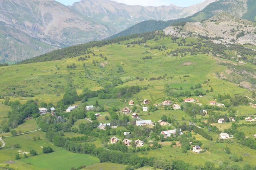 panorama depuis les gites de la pierre de la miausie - ANCELLE 3 GITES MODULABLES, DE 2 A 18 PERSONNES