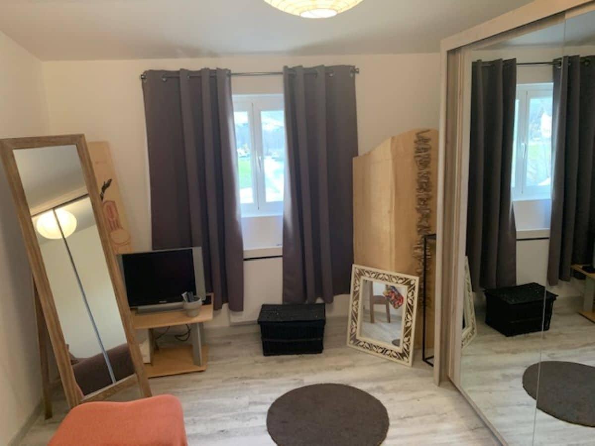 chambre 1 2 - ANCELLE T4 DE 100 m² (6 COUCHAGES)
