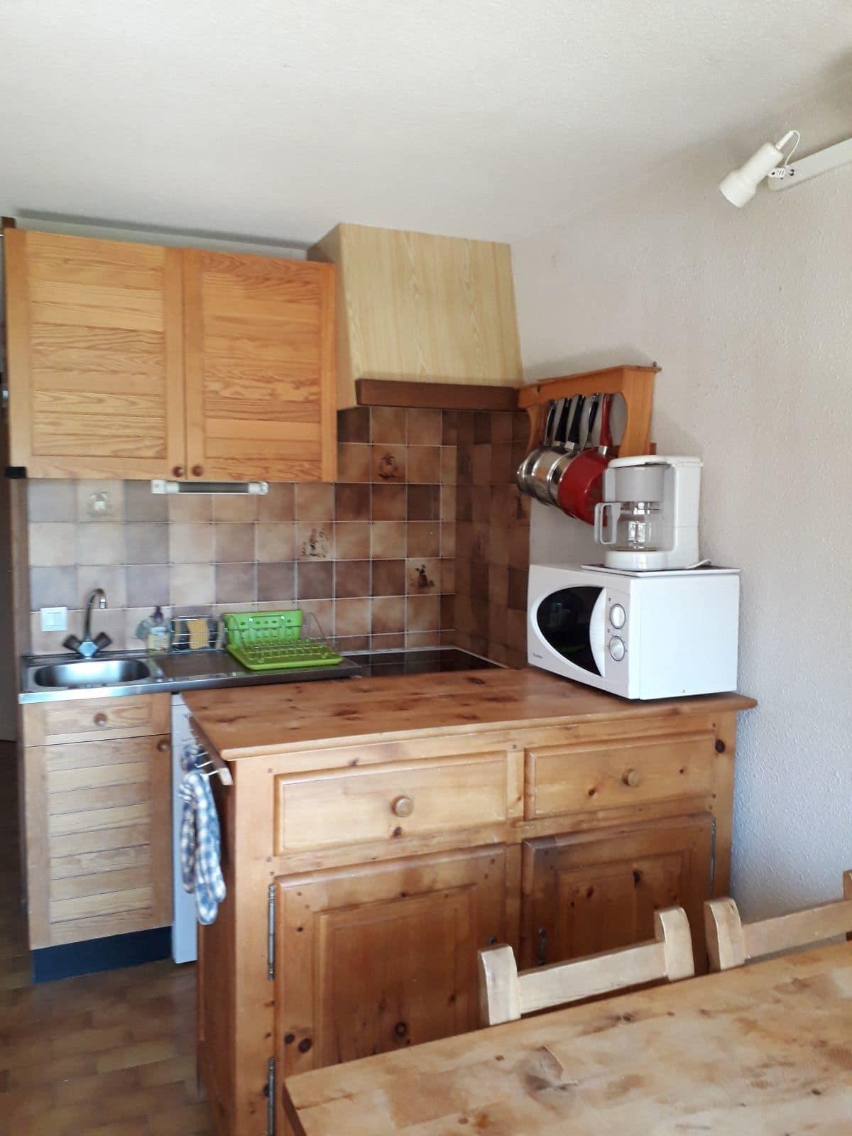 cuisine - ANCELLE T2 DUPLEX DE 35 m² (5/6 COUCHAGES) LES TAILLAS