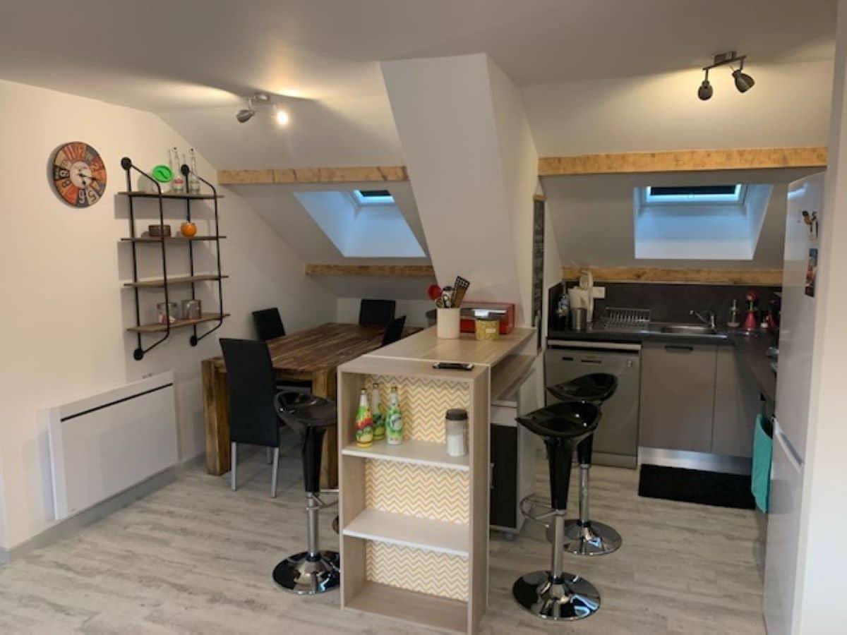 salle a manger 4 - ANCELLE T4 DE 100 m² (6 COUCHAGES)