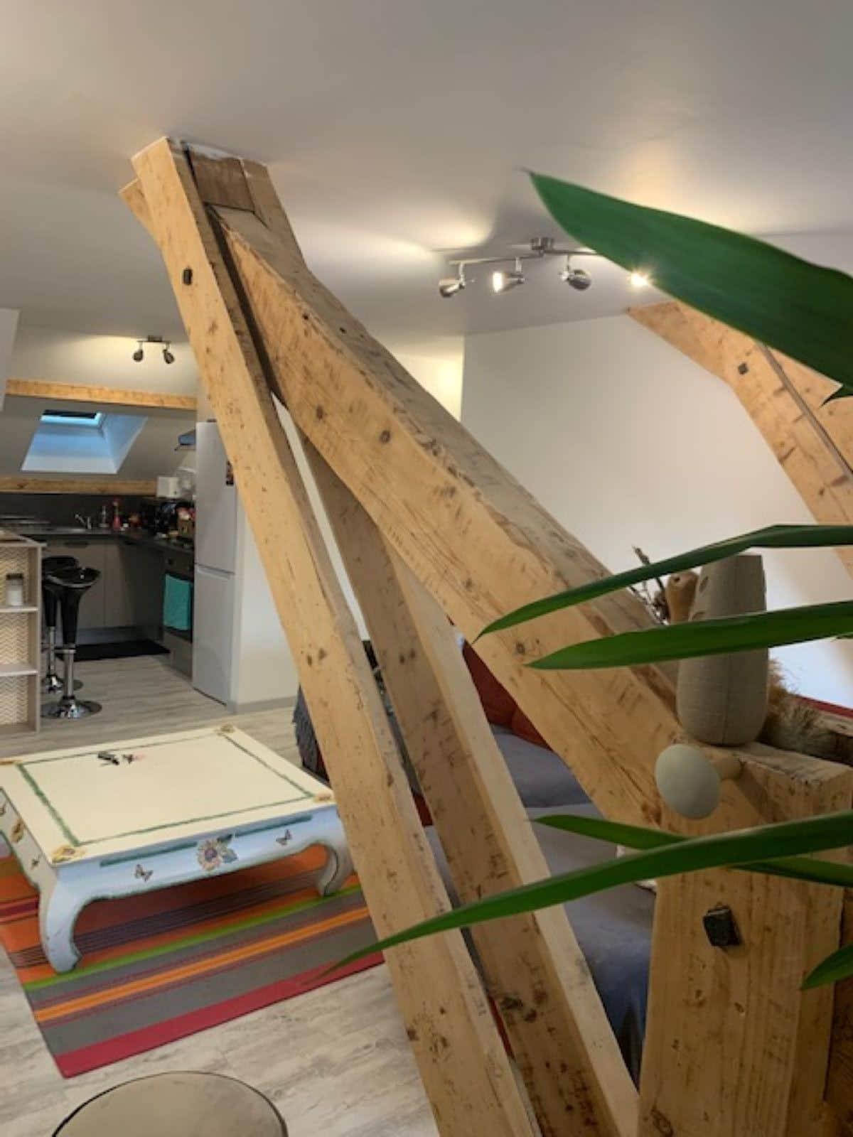 salon 4 - ANCELLE T4 DE 100 m² (6 COUCHAGES)