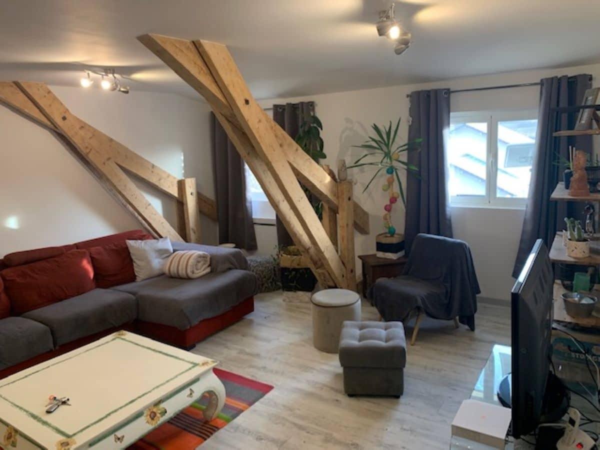 salon - ANCELLE T4 DE 100 m² (6 COUCHAGES)